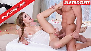 LETSDOEIT, Valentine's Day Massage Sex Involving Hot Ally Breelsen